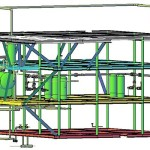 Equipment,-piping-&-structure-3D-model