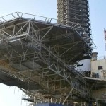 Helideck-steel-structure