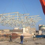 New-steel-substructure-lifting