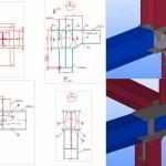 TEKLA-model-joint-details-of-gas-turbine-package-module